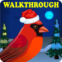 Christmas Red Cardinal Escape Walkthrough